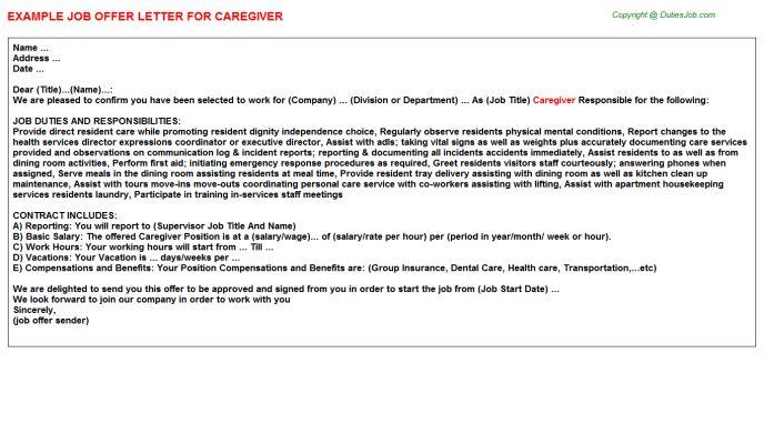 caregiver resume samples visualcv resume samples database ...