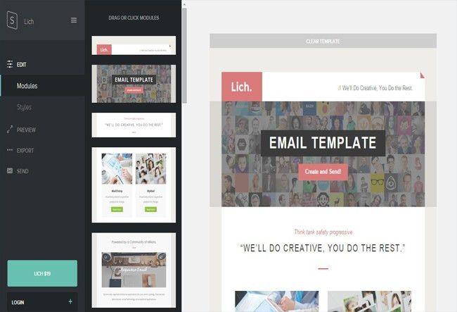55+ Awesome Html Newsletter Templates Free & Premium - wpfreeware