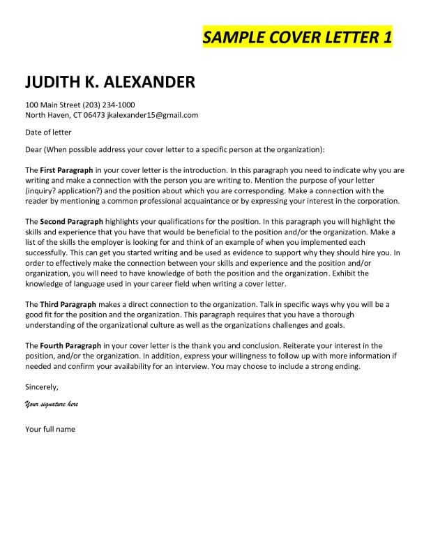 Cover Letter Last Paragraph | Professional resumes sample online