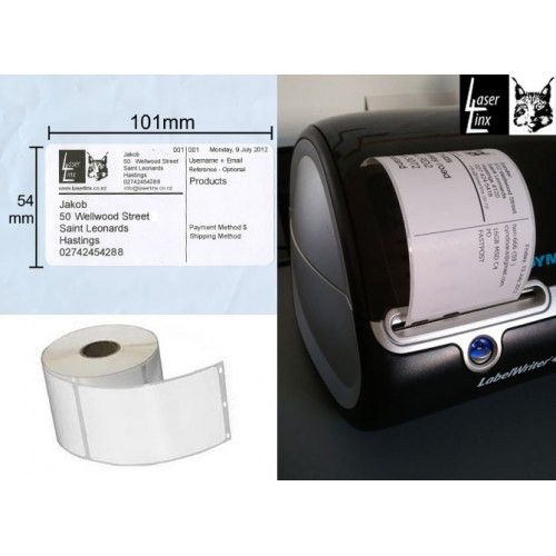 Dymo Shipping Labels - Large - 101mm x 54mm Compatible 99014
