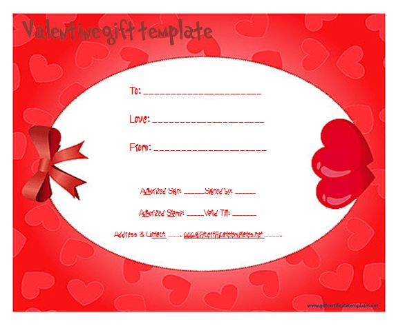 custom gift certificate template - Gift Certificate Templates