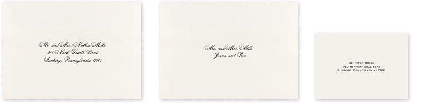 Wedding Envelope Addressing | Invitations By Dawn
