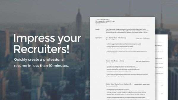 The Resume Builder | crunchbase
