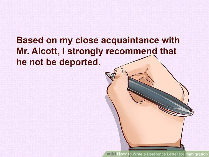 Expert Advice on How to Write a Reference Letter for Immigration