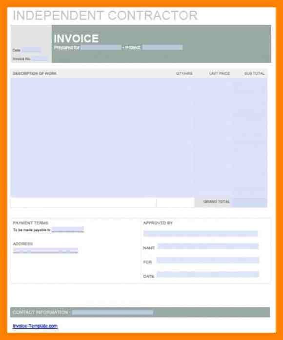 10+ independent contractor invoice | daily log sheet