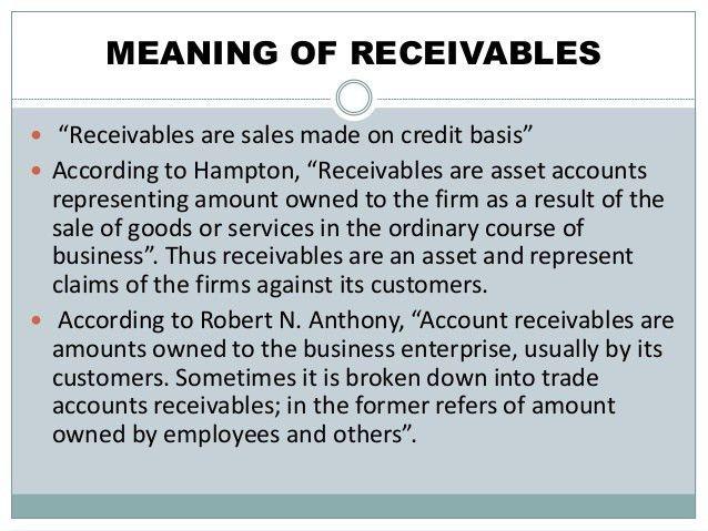 Receivable management presentation1