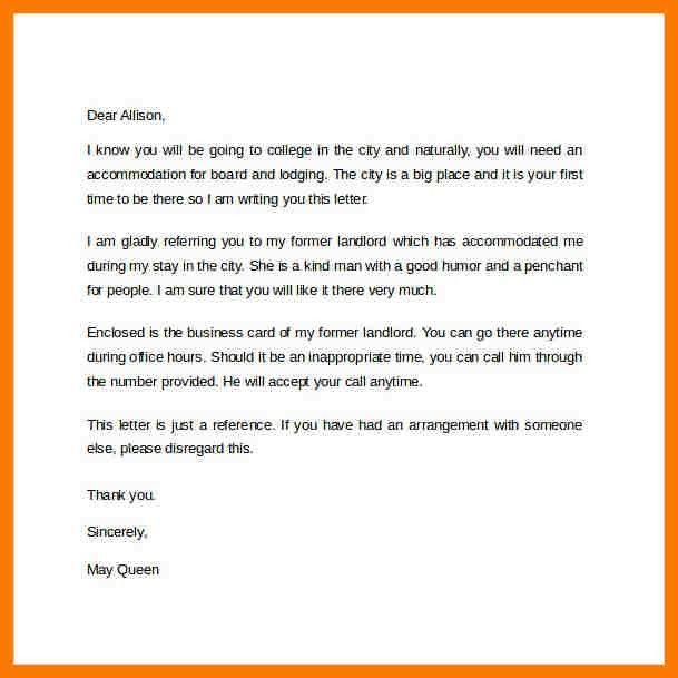 6+ landlord reference letter | park-attendant