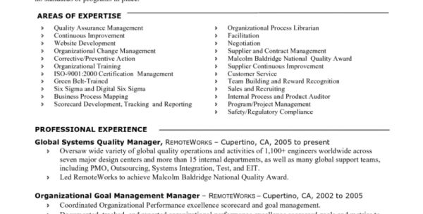 Production Quality Assurance Job Description Quality Assurance Job ...