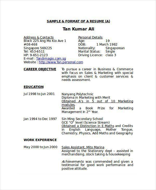 Resume Sample Sales Associate Retail Resume Examples Shelf Stocker ...