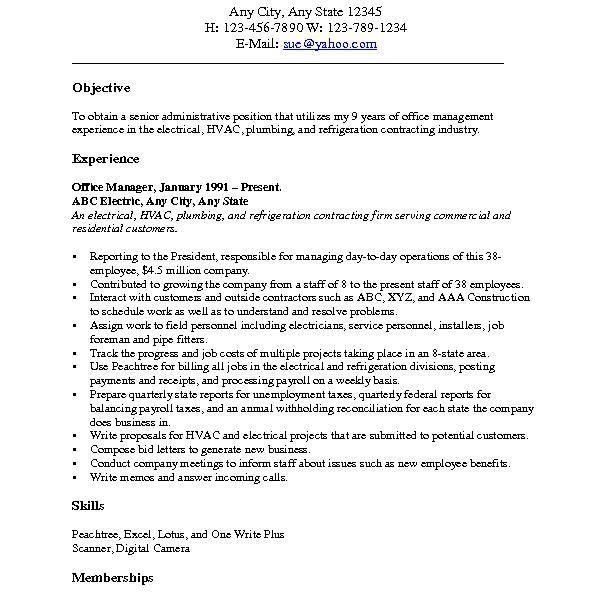 Marketing Resume Objective - cv01.billybullock.us