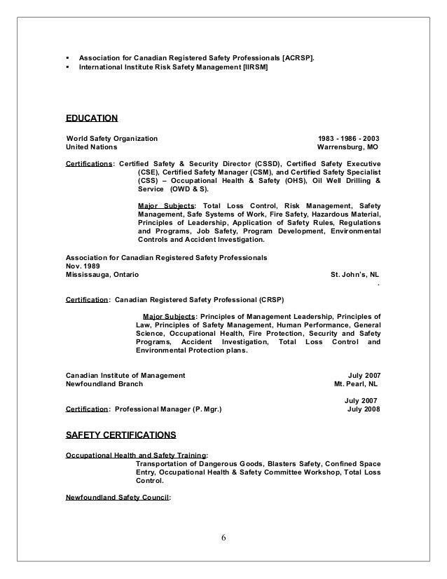 David L Russell Resume