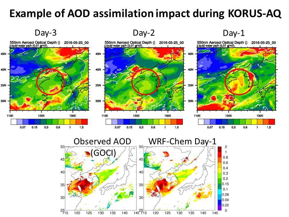 Impacts of Assimilation of Air Quality Data from Geostationary ...