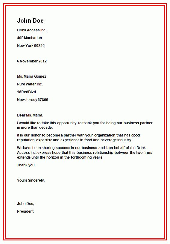 sample business letter format sample letters bb6fyg2p. typing ...