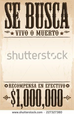 Vector Vintage Wanted Poster Template All Stock Vector 160864253 ...