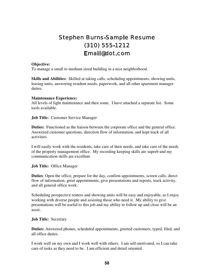 sample resume format for fresh graduates one page format sample ...