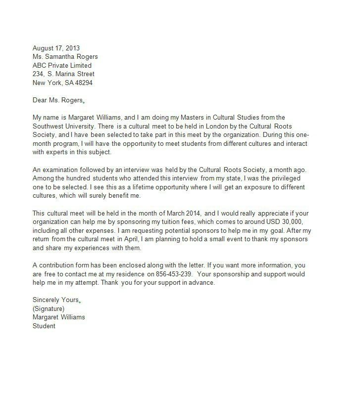Proposal Letter For Sponsorship Sample For Event 40 Sponsorship – Writing a Sponsorship Proposal Letter