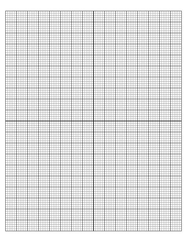 Graph Paper A4 Size Template Printable - PDF, Word, Excel Sheet, Word