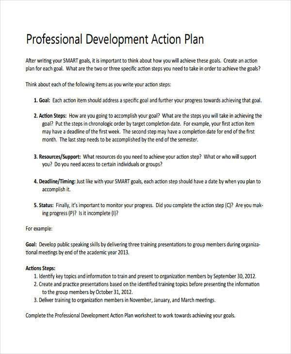 69+ Personal Plan Examples, Samples
