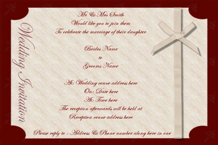 editable wedding invitation cards templates free download | Best ...