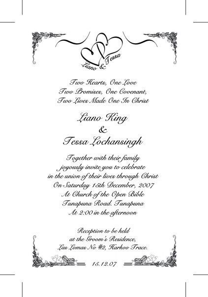 Wedding Invitation Wording Kerala Muslim ~ Yaseen for .