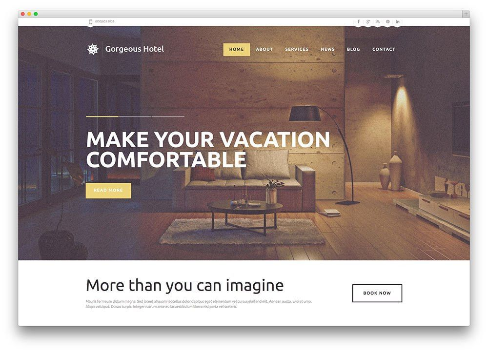 30+ Best Hotel, Apartment & Vacation Home Booking WordPress Themes ...