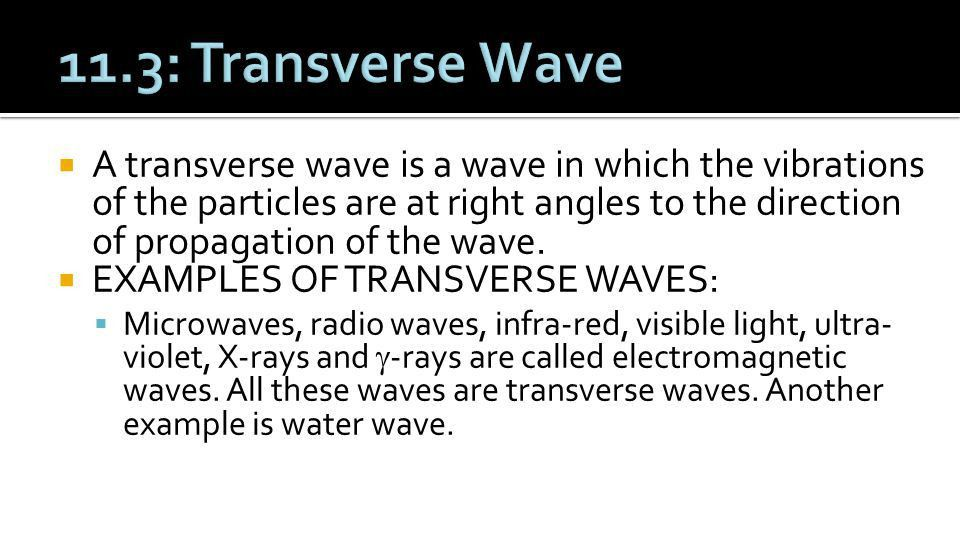 O Level Physics Chapter :11: Properties of Waves - ppt download