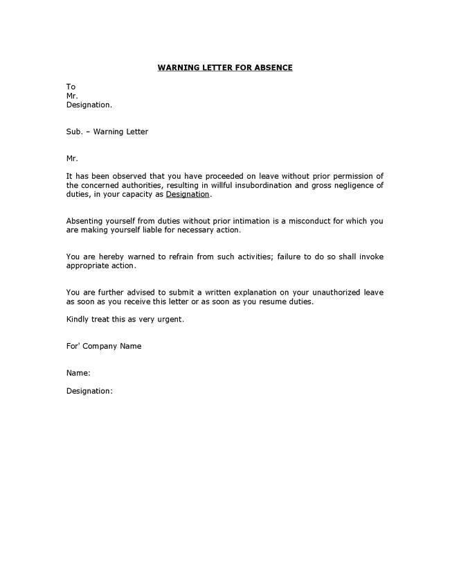 Work Order Termination Letter Format | Application For Employment ...