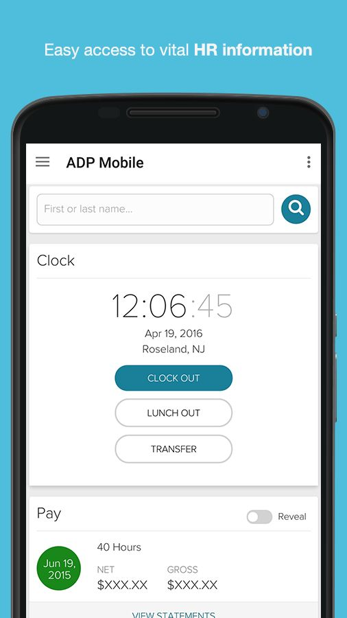 ADP Mobile Solutions 2.9.2 APK Download - Android Business Apps