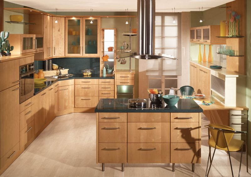 Kitchen Design and cabinets, faucets and sinks by Moen and Kohler ...