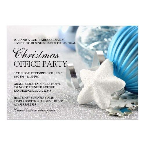 Top 50 Work Christmas Party Invitations | Holiday Greeting Card