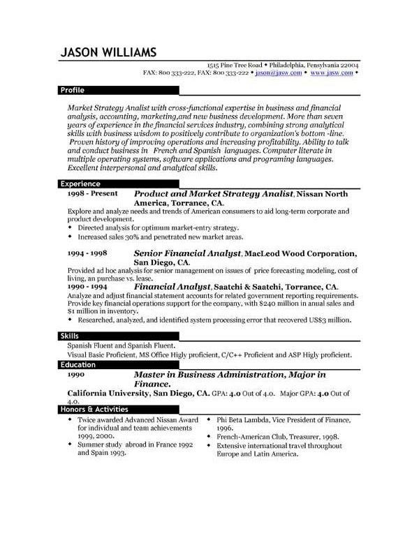Resumes Formats, 3 resume formats: which one works for you ...