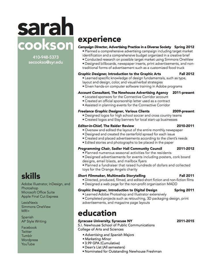 141 best Resumes images on Pinterest | Resume ideas, Resume tips ...