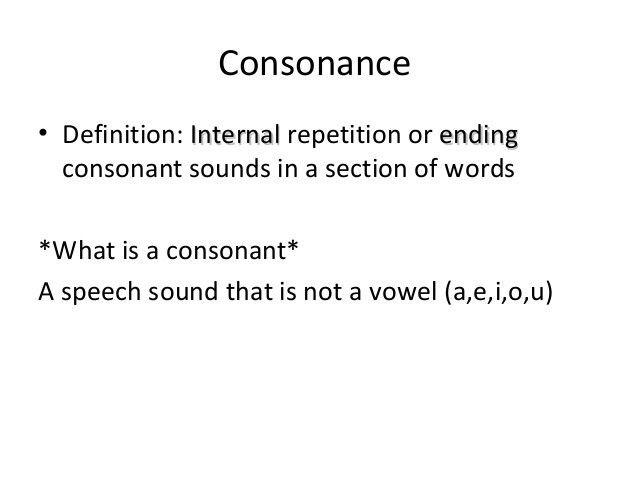 Alliteration & assonance