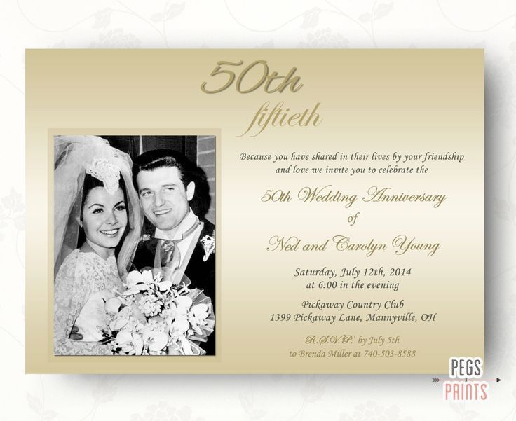 166 best anniversary cards and invitations images on Pinterest ...