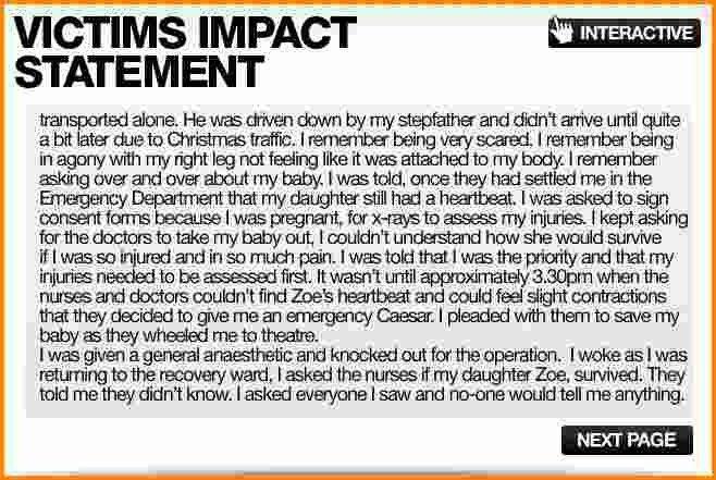 7+ victim impact statement example | Authorization Letter