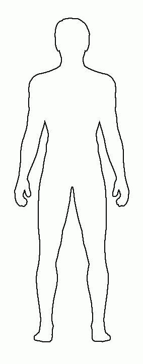 Male Body Template For Fashion Design | Costume Sketch Templates ...