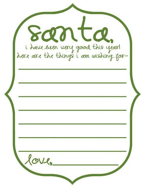 Printable Wish List Template - cv01.billybullock.us