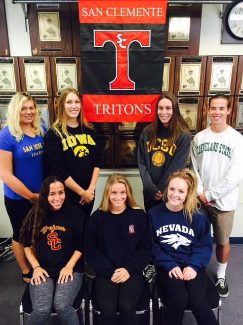 Signing Day: Tritons Ink National Letters of Intent | San Clemente ...