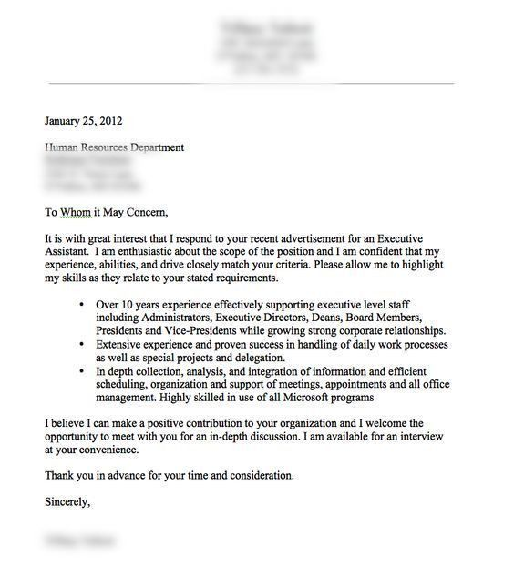 Impressive Good Examples Of Cover Letters 15 Letter - CV Resume Ideas