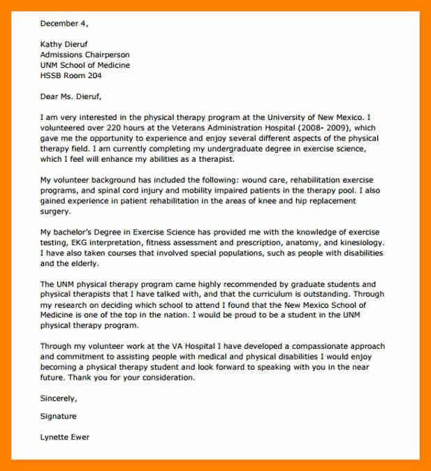 therapy cover letter - Josemulinohouse