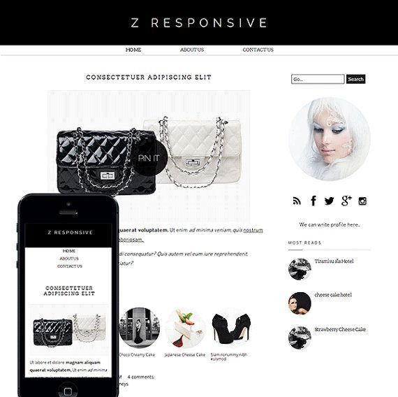 27 best web design images on Pinterest | Blogger templates, Blog ...