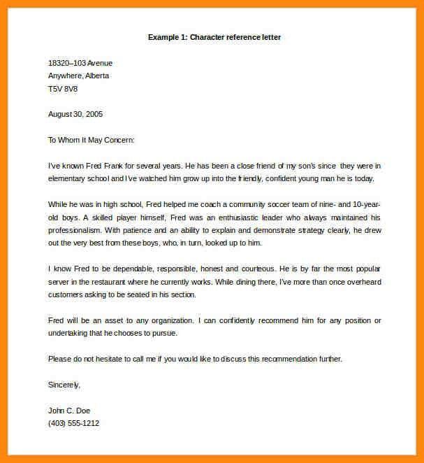 6+ reference letter template word   nurse resumed