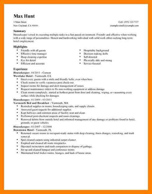 7+ housekeeping resume sample | pilot resumed