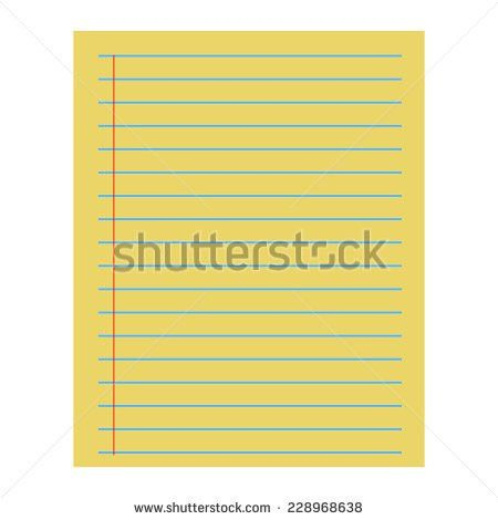 Icon Paper Notepad Pad Line Flat Stock Vector 546274834 - Shutterstock
