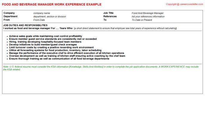 barback resume 14 barack resume barback duties cover letter busser ...