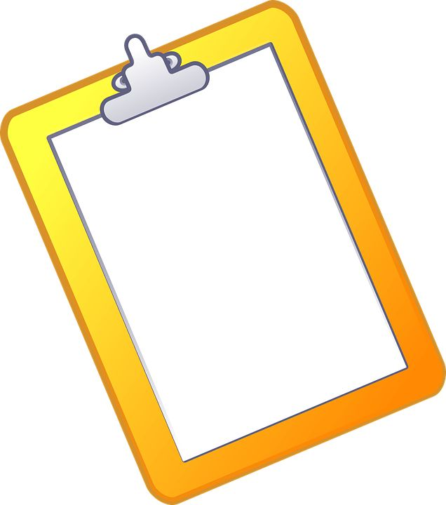 Free vector graphic: Clipboard, Document, Paper, Notepad - Free ...