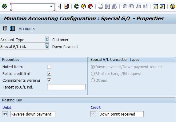Configuration of SAP Special G/L Transactions - SapGurus