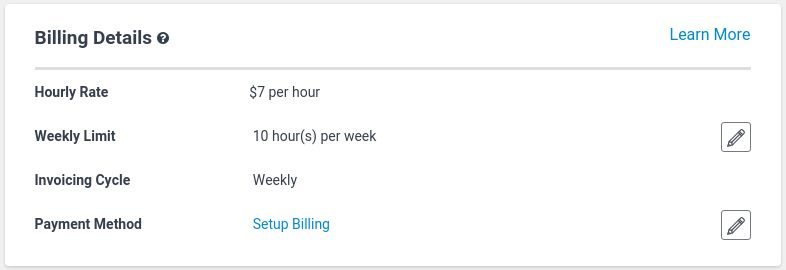 Managing Hourly Projects   Project   Freelancer Support