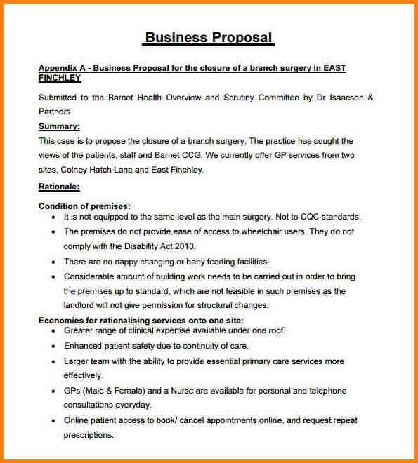 9+ free business proposal template | artist resume
