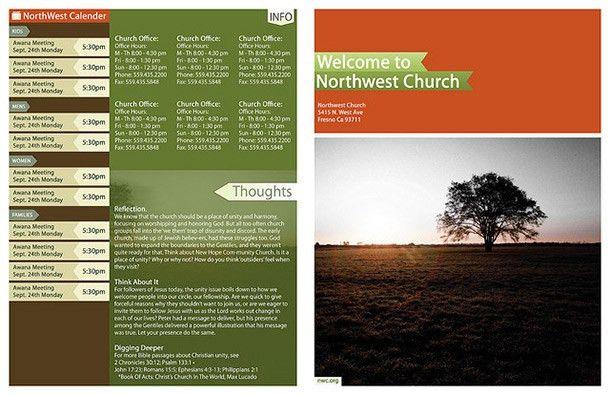 15 Cool Church Brochures - Printaholic.com